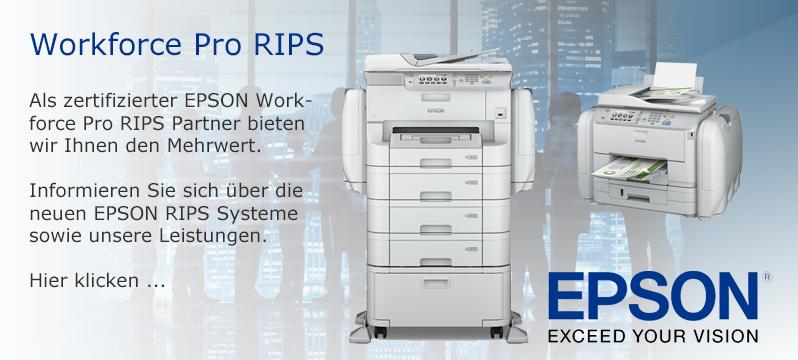 EPSON WorkForce Pro RIPS Systeme bei PHD