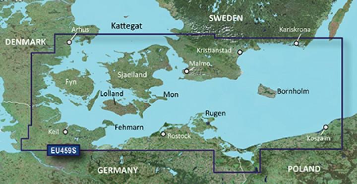 GARMIN BlueChart® g2 Seekarte EU459S auf DataCard 010-C0803-10