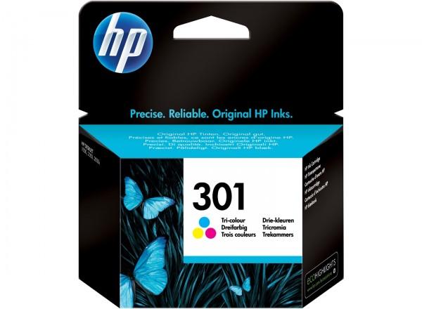 HP Tintenpatrone 301 color 165 Seiten