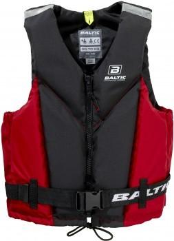 Baltic Trim 5843 Black/Red Auftriebshilfe mit Reißverschluss verschiedene Größen-Copy