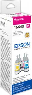 Epson Tintenbehälter für EcoTank L Modelle T6643 (70ml) magenta