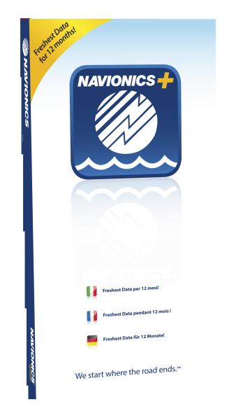 Navionics Plus Seekartenmodul auf microSD/SD Karte