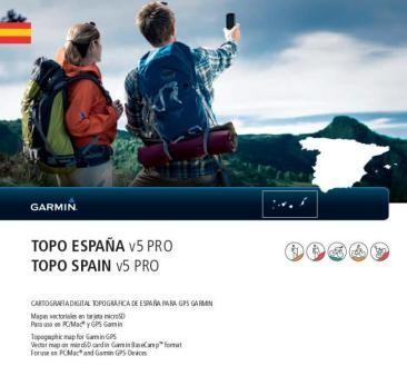GARMIN TOPO Spanien v5 PRO auf MicroSD