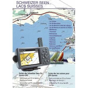 Garmin Schweizer Seen auf CD