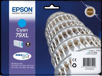 Epson Tintenpatrone T79C Cyan XL 2000 Seiten
