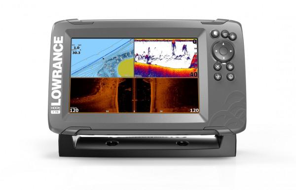 Lowrance Hook2-7 SplitShot GPS Combo Echolot
