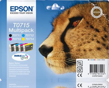 Epson Multipack T0715 4er Pack DURABrite Ultra