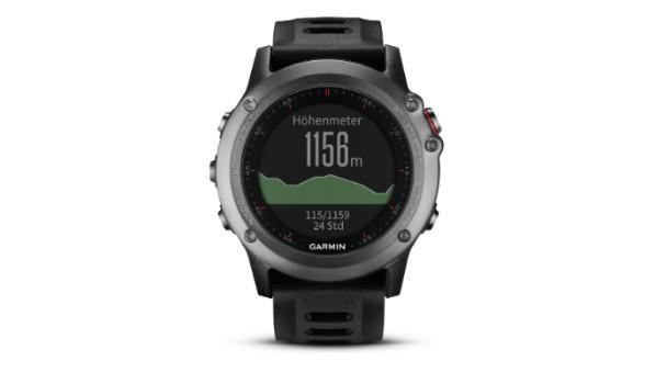 Garmin fēnix 3: GPS-Multisportuhr mit Smartwatch-Funktionen