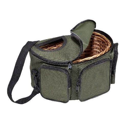 Fliegenfischer Geflecht-Korb/Tasche, Gr