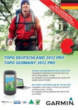 Garmin TOPO Deutschland 2012 pro- nur auf microSD