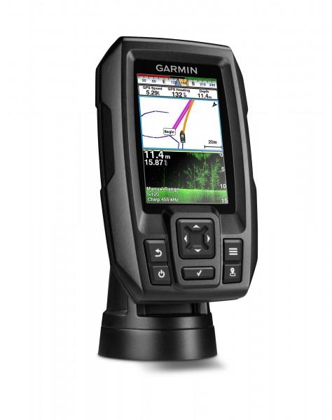 "Garmin Striker 4cv DownVü Chirp Echolot Fishfinder mit GPS (3,5"" Color Display)"