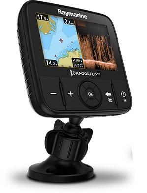 Raymarine Dragonfly 4 PRO Fishfinder mit GPS Kartenplotter