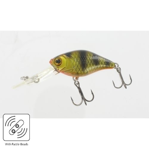 Wobbler Trophy Trout Schwimmend (Deep Diving) 6 g Farbe Perch