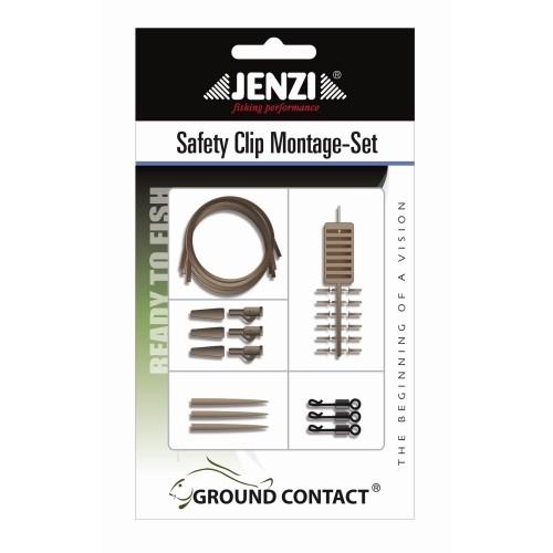Safety Clip Carp-Montage-Set, praktische Komplettmontage