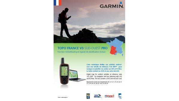 GARMIN Topo Frankreich Süd-West PRO (010-11242-01)