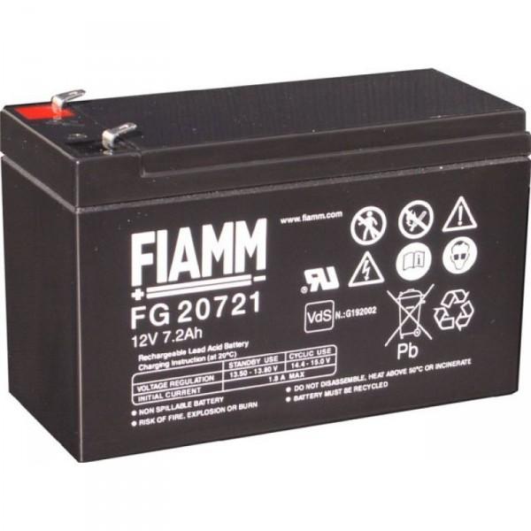 FIAMM 12 Volt - 7 Ah - VdS-Akku