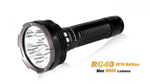Fenix RC40 Cree XM-L2 U2 LED Taschenlampe mit Ladekabel