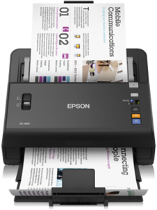 Epson WORKFORCE DS-860 Scanner
