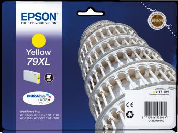 Epson Tintenpatrone T79Y XL yellow 2000 Seiten