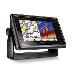 Garmin GPSMAP 721xs Kombimodell aus Kartenplotter und Echolot mit Touchscreen