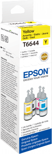 Epson Tintenbehälter für EcoTank L Modelle T6644 (70ml) gelb