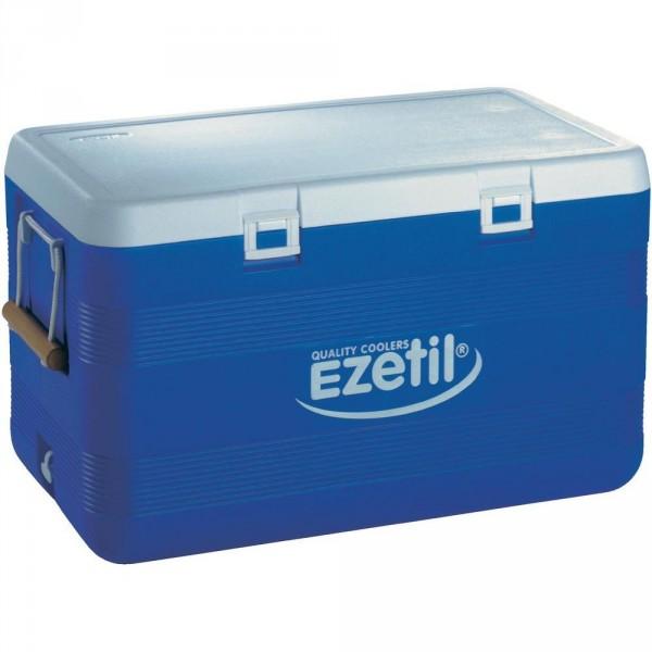 EZetil 3-Days-Ice 100 L XXL Kühlbox blau/weiß