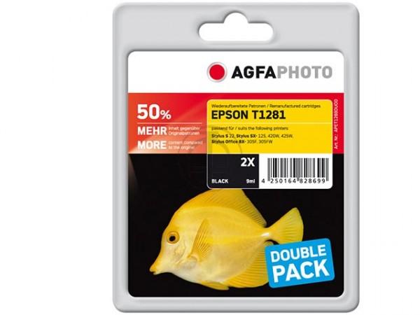 Agfa Foto wiederaufbereitete Epson T1281