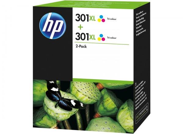 HP Tintenpatrone 301 XL color 2er Pack