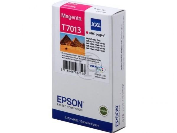 Epson T7013 magenta XXL 3400 Seiten