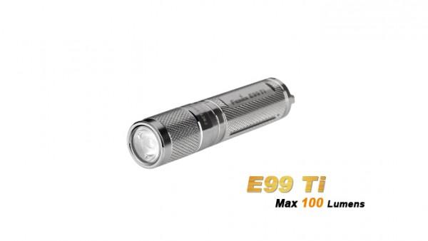 Fenix E99 Ti LED Taschenlampe (limited edition) Titan