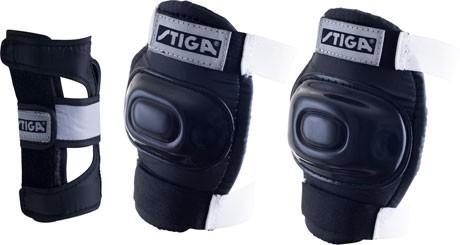 Stiga Protection Set Comfort JR schwarz Größe L