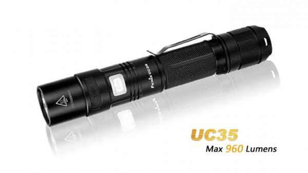 Fenix UC35 LED Taschenlampe mit USB Anschluss