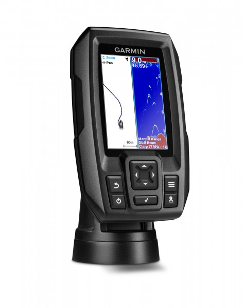 "Garmin Striker 4 Worldwide Chirp Echolot Fishfinder mit GPS (3,5"" Color Display)"