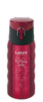 EZetil LaPLAYA Reisebecher Bubble Safe rot 0,35 L