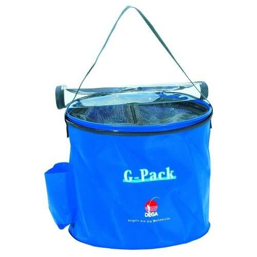 G-Pack, rund, blau, mit Rei