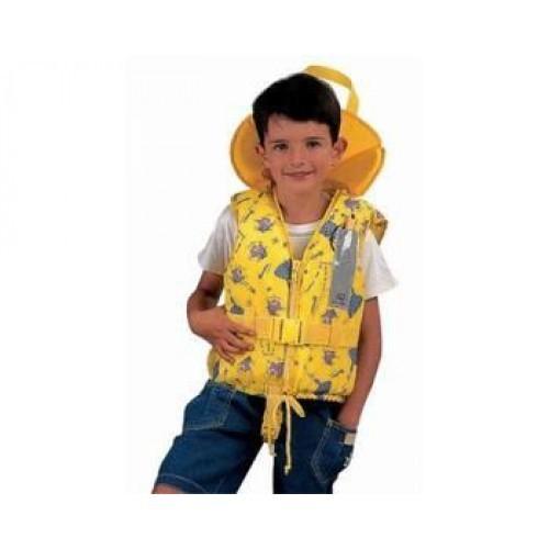 Plastimo Rettungsweste Typhon für Kinder 100 N Gelb 3-10 Kg