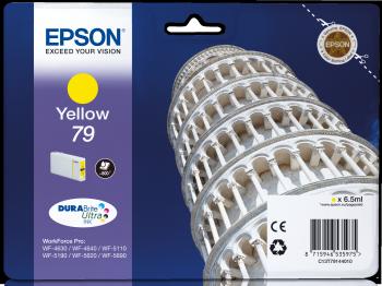 Epson Tintenpatrone T79Y yellow 800 Seiten