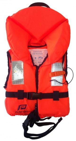 Plastimo Rettungsweste Typhon für Kinder 100 N Orange 20-30 Kg