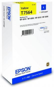Epson Tinte WF-8XXX Serie Tintenpatrone yellow L 14ml