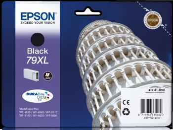 Epson Tintenpatrone T79 Schwarz XL 2600 Seiten